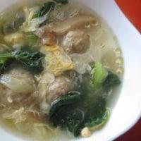 ターサイの中華風スープ