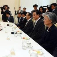 両国首脳は会談で北朝鮮核問題や韓米自由貿易協定(FTA)をめぐる再交渉の可否、経済協力の拡大などの協議。