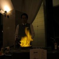 箱根旅行。夕食には特注のデザートを頂きました。No4