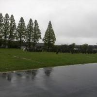 今年は雨  桂駐屯地へ行ってみた