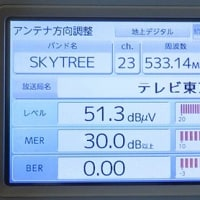 千葉県:八千代市ゆりのき台にて、地デジ屋根裏アンテナ工事