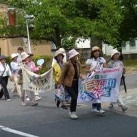 核兵器のない世界へ 小さな町の国民平和大行進がやってきた