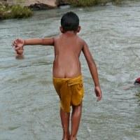 第38回  ミズガキと川ガキ  河川遊泳型児童を考察する?