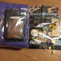 今日は私の誕生日
