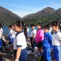 6年生修学旅行 2日目 然別湖温泉風水 入館式