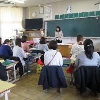 4/21(金)平成29年度 初めての授業参観
