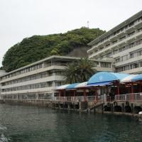 橋杭岩・ホテル浦島の7階の部屋から・・・NO2