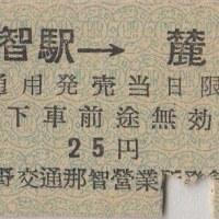 硬券追究0007 熊野交通