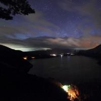 薄明に昇る天の川を撮影に行くが・・・ 中之倉展望台  平成29年2月25日
