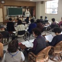 10月22日 サロン長坂台