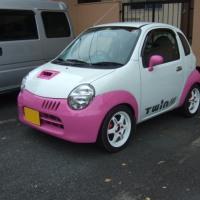 車の全塗装??