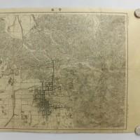 奈良 地形図 明治20年〜同年22年11月 二万分の一