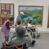 示現会 和歌山巡回展(県民文化会館)絵画鑑賞に。