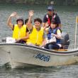 ヲクツポイント2017 奥津湖の巡視体験