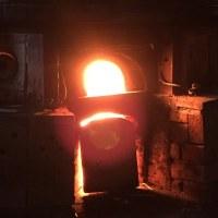 窯焚き   Fired kiln