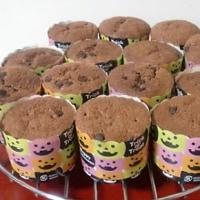 チョコバナナカップケーキ