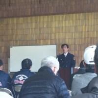 毎年恒例になった地区防災訓練