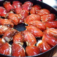 鰹と赤さばの島寿司