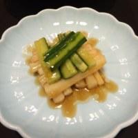 頼々軒厨房に入る:唐揚げ・中華マリネ・リゾット