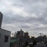 今朝(12月7日)の東京のお天気:曇り