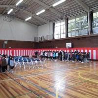 入学式 全校練習
