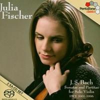 音と演奏の良いCD5(バッハ 無伴奏ヴァイオリン・ソナタとパルティータ)