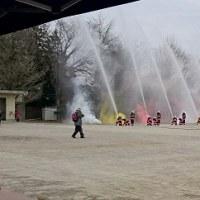 地域を守る「羽村市消防団出初式」
