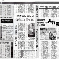 刑事司法改革 立命館大渕野貴生教授に聞く-12月9日付東京新聞こちら特報部