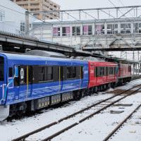 新型男鹿線車両、3月より営業運転開始!