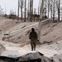 イスラム国のシリア「首都」支配、崩壊の兆候 多くの戦闘員がラッカから逃亡