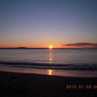 1月3日の「日の出」