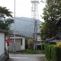 上田市真田町横沢の火の見櫓