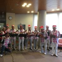 12月8日真寿園で、クリスマスのボランティエア・・・