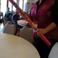 Chinese New Year Lunch at Senior Center