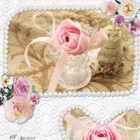 石鹸の薔薇♪