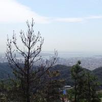 近郊への山紀行・残暑の六甲山系西部(菊水山・鍋蓋山・摩耶山)を歩く