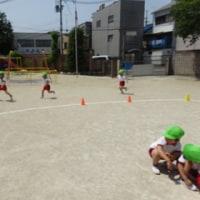 すみれ3・4組さんの運動遊び!
