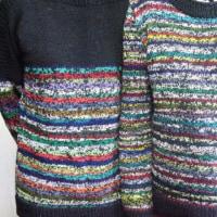 リサイクル毛糸のセーター その2