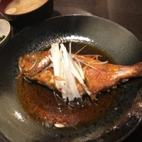 キンメの煮魚