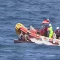 北の船員4人を救助   韓国