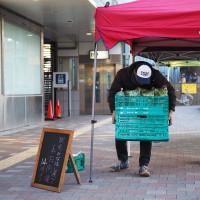 第7回無農薬農家の野菜の直売会「駅前みなはし横丁」開催☆