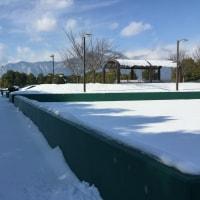 扇子田テニスコートでの教室の連絡です