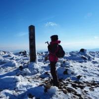 蔵王登山三度目でようやく晴れる