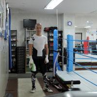 2017年初打ち first boxing training in 2017, tons of sweat in even cold winter