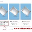 パーソナル向けメタルマスクが受注中--中華基板PCBgogo(見本を添付した版)