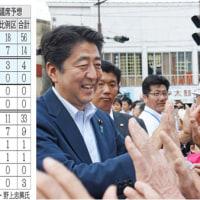 改憲4党で74議席行きそう!
