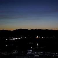 夕暮れの空のこの色が好き       2017.06.11.