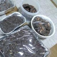 ブラウニーとチョコクッキー
