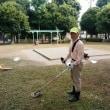 ミニ防災訓練の準備