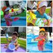 ☆ たんぽぽぐみ(一歳児)プール遊び&室内遊び ☆